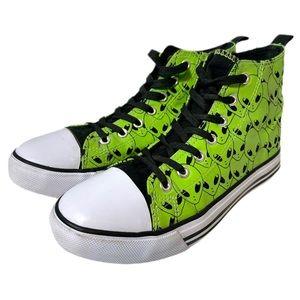 💋FINAL DROP Hot Topic Alien High Top Sneakers